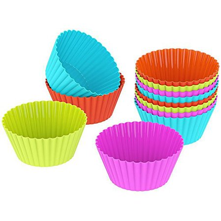 how to clean silicone cupcake liners