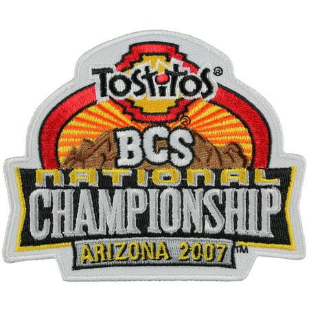 2007 Tostitos BCS National Championship Game Patch in Arizona (Florida Gators vs. Ohio State (2007 Bcs Championship Bowl)