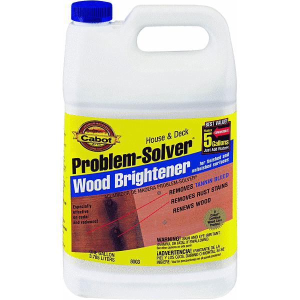 Cabot Problem-Solver House & Deck Wood Brightener