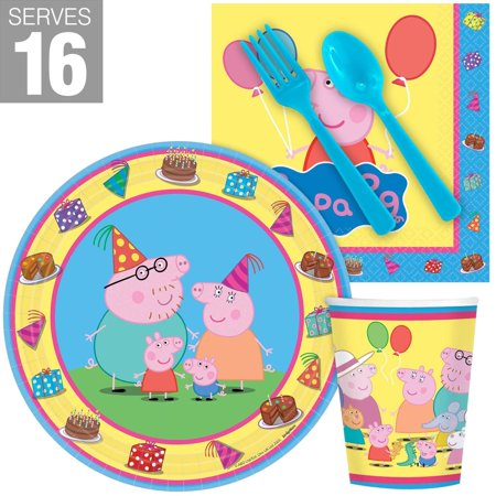 Peppa Pig Snack Party Pack for - Peppa Pig Room Decor