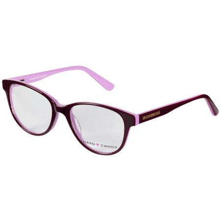 Hard Candy HC43 Eyeglass Frames - Purple - Walmart.com