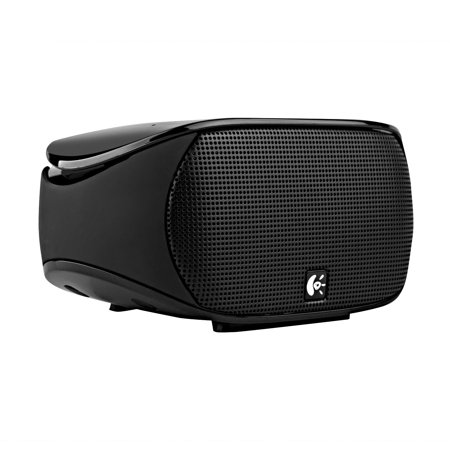 Logitech Portable Wireless Bluetooth Mini Boombox with Built-In Mic Certified (Certified Refurbished)