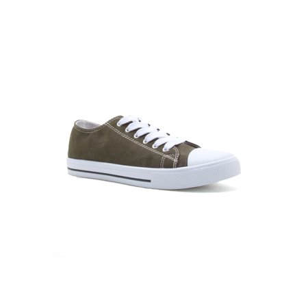 dee3899f69421 Qupid - Womens Suede Laced Up Flat Heel No Show Sneakers Shoes NARNIA-01 -  Walmart.com
