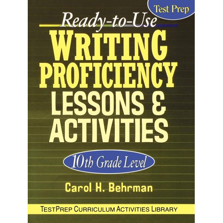 Ready-To-Use Writing Proficiency Lessons & Activities : 10th Grade Level - Halloween Writing Activities 2nd Grade