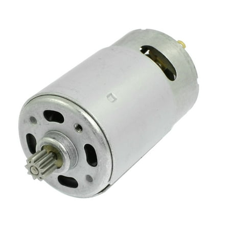 DC 18V 9 Teeth Shank Gear Motor Replacement f Rechargeable Electric Drill ()
