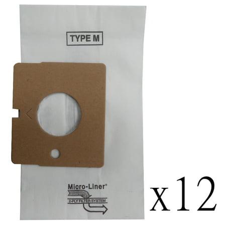 12 Vacuum Cleaner M Bag For Sears Kenmore Magic Blue 5231Fi2390f  5231Fi2390j