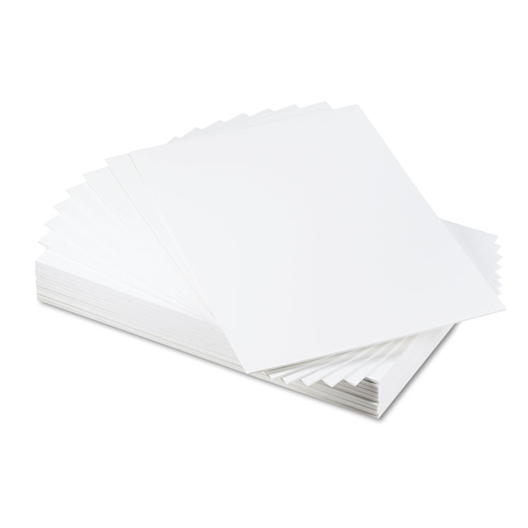 Cfc-Free Polystyrene Foam Board, 20 X 30, White Surface And Core, 25 carton by Elmer's Products Inc