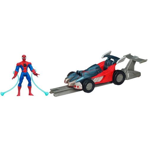 Marvel Ultimate Spider-Man Power Webs Spider Racer Vehicle