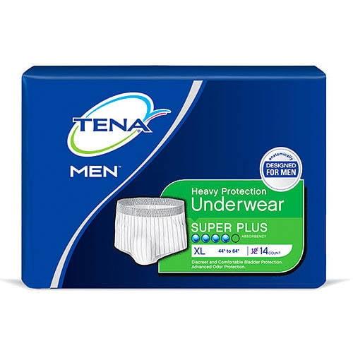 TENA MEN Protective Underwear, X-Large, 14 count