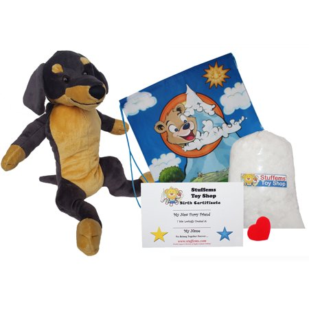 Make Your Own Stuffed Animal Chipper the Dachshund Dog 16