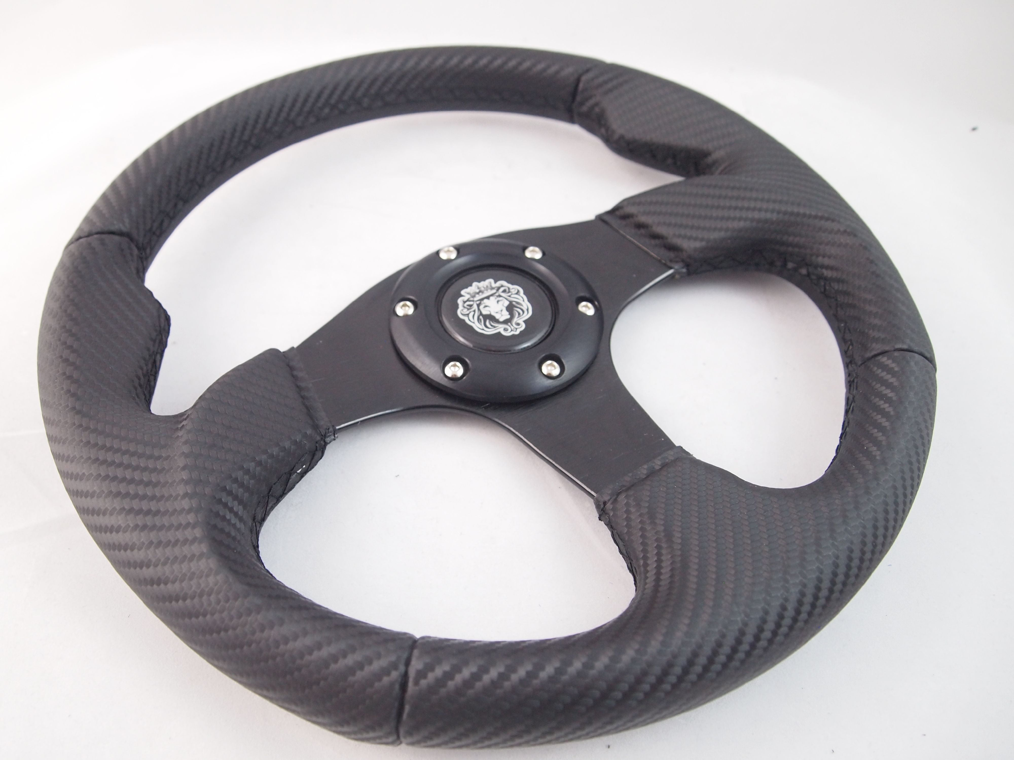 """Wood Boat Steering wheel W// Adapter 3 spoke boats with a 3//4/"""" tapered key Marine"""