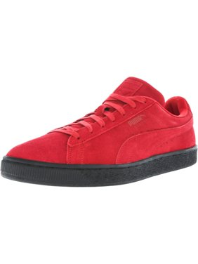 788ebf7e24a8ac Product Image Puma Men s Suede Black Sole Red   Ankle-High Fashion Sneaker  - 13M