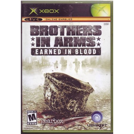 Brothers In Arms: Earned In Blood Xbox Bloody Video Games