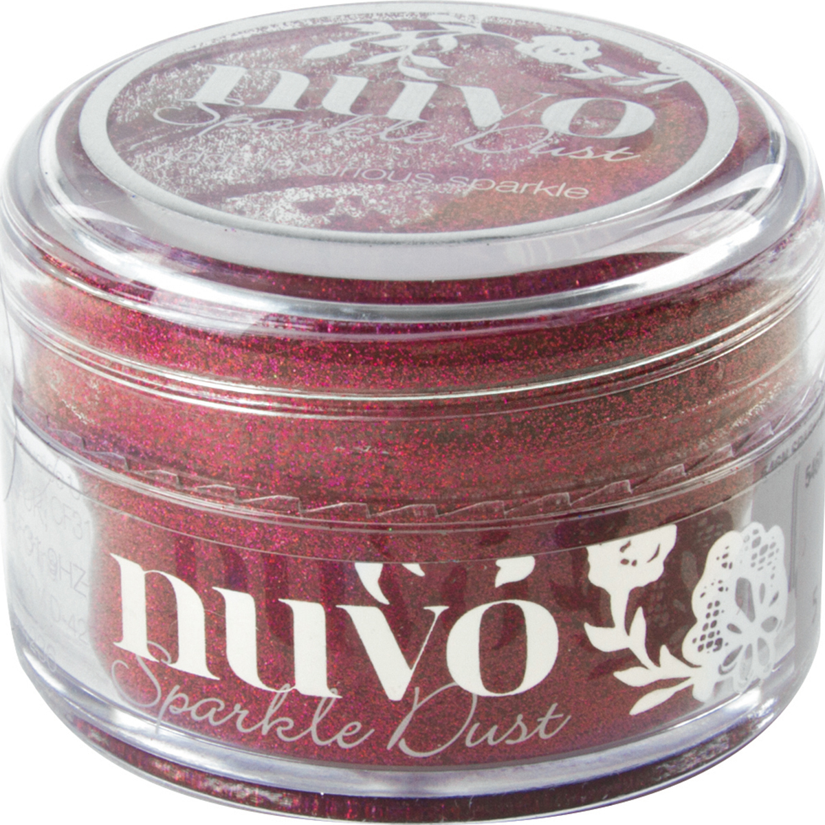 Nuvo Sparkle Dust .5oz-Raspberry Blue