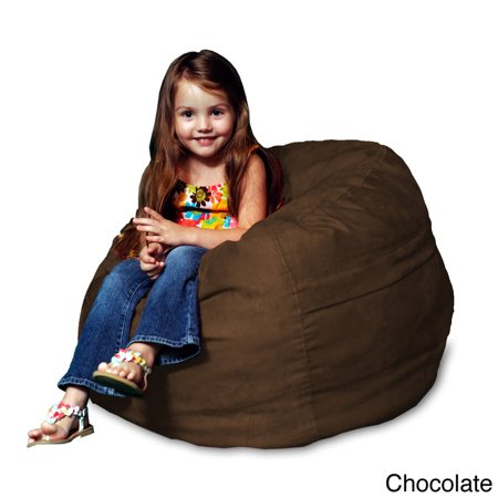 Peachy Theater Sacks Llc Memory Foam Micro Suede Kids Beanbag Chair For Camellatalisay Diy Chair Ideas Camellatalisaycom
