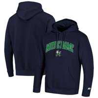 Men's Russell Athletic Navy Notre Dame Fighting Irish Classic Wordmark Pullover Hoodie