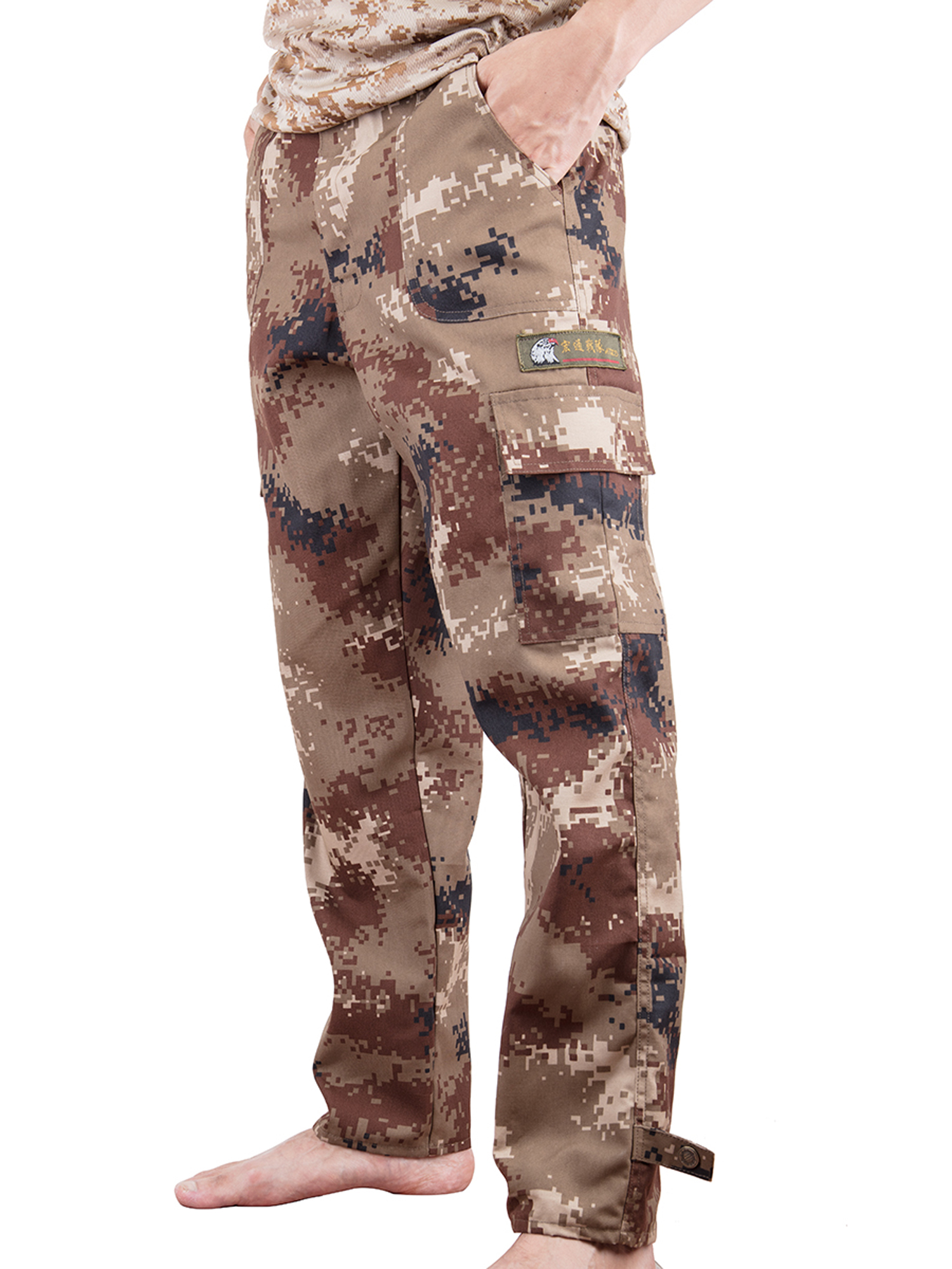 bbcccda1b063c Lelinta - LELINTA Mens Camo Pants BDU Pants Military Fatigues Kids Classic  Sweatpants Hunting Cargo Pants Desert Shadow Youth - Walmart.com