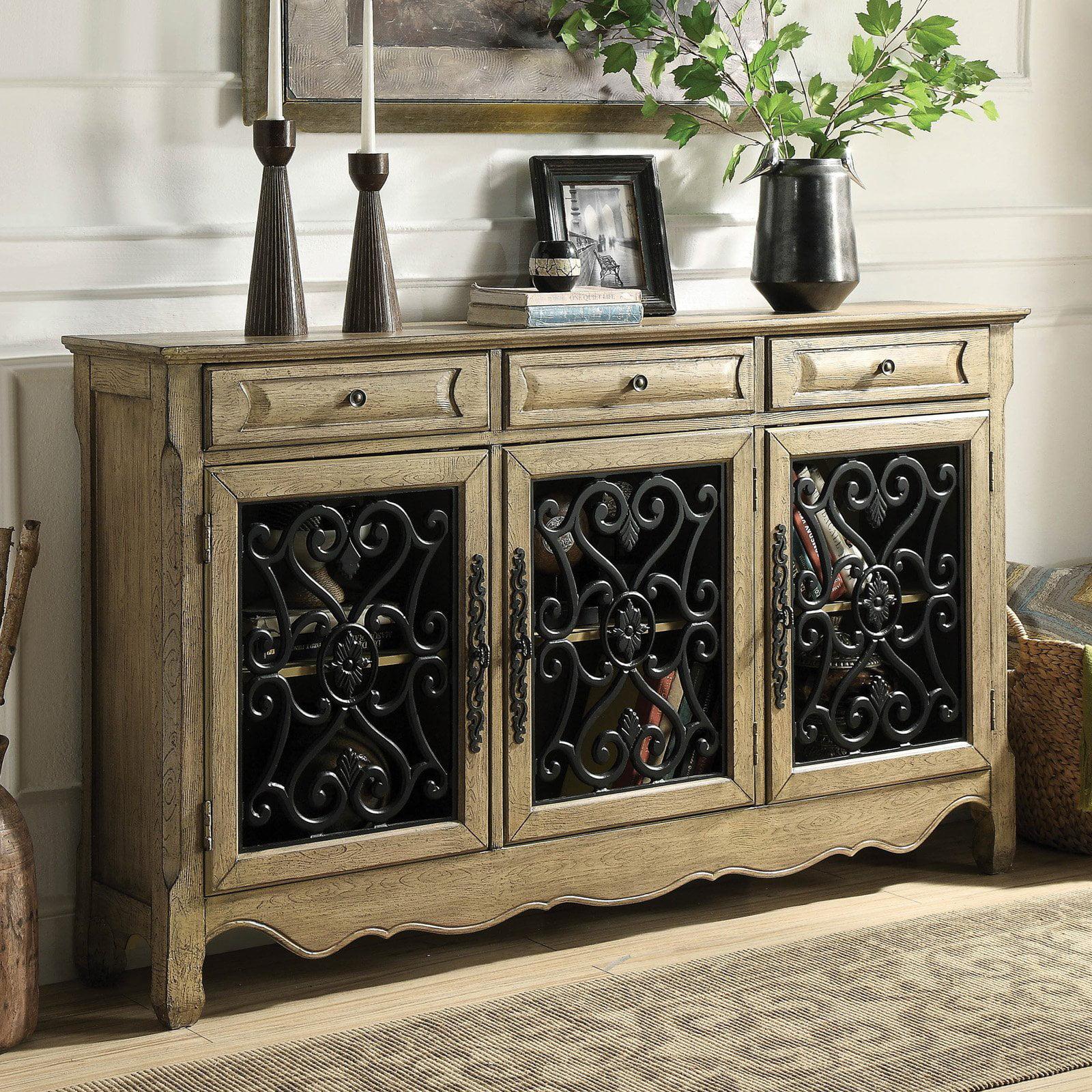 Furniture of America Verona Vintage Entryway Cabinet