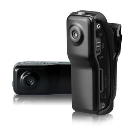 Ankaka A50123 Multifunctional 720 x 480 Mini Pocket Voice Activated Video Recorder DVR Sports Helmet Bike Camera ()