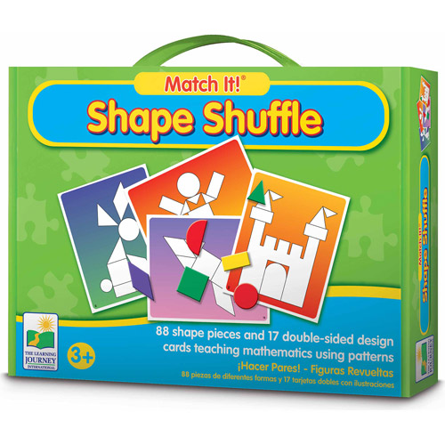 The Learning Journey Match It! Shape Shuffle