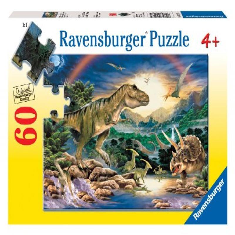 Ravensburger Dinosaur Times - 60 Piece Puzzle