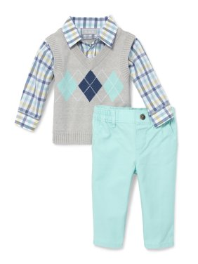 6303275bccb2 Product Image Argyle Sweater Vest Pant Set (Baby Boys)