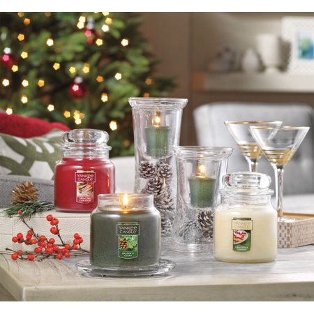 Holiday Candle Pails (Yankee Candle Holiday Small Jar Candle Trio Gift)