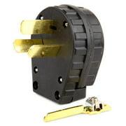 Lincoln Electric® KH529 Heavy-Duty Vinyl Plastic Crow-Foot Welding Plug
