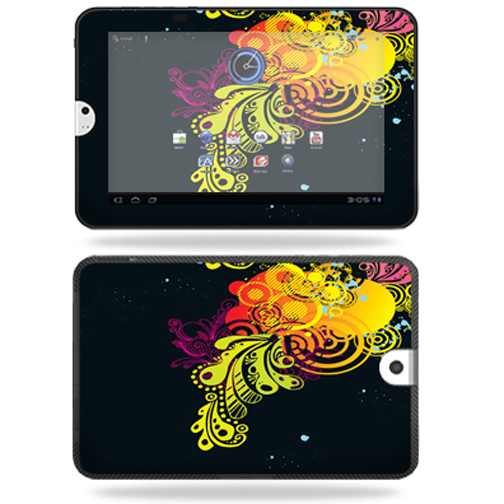 Mightyskins Protective Vinyl Skin Decal Cover for Toshiba Thrive 10.1 Android Tablet wrap sticker skins Flourishes