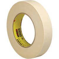 T933202 Natural 1/2 Inch x 60 yds. 3M 202 Masking 5.4 Mil Tape CASE OF 72