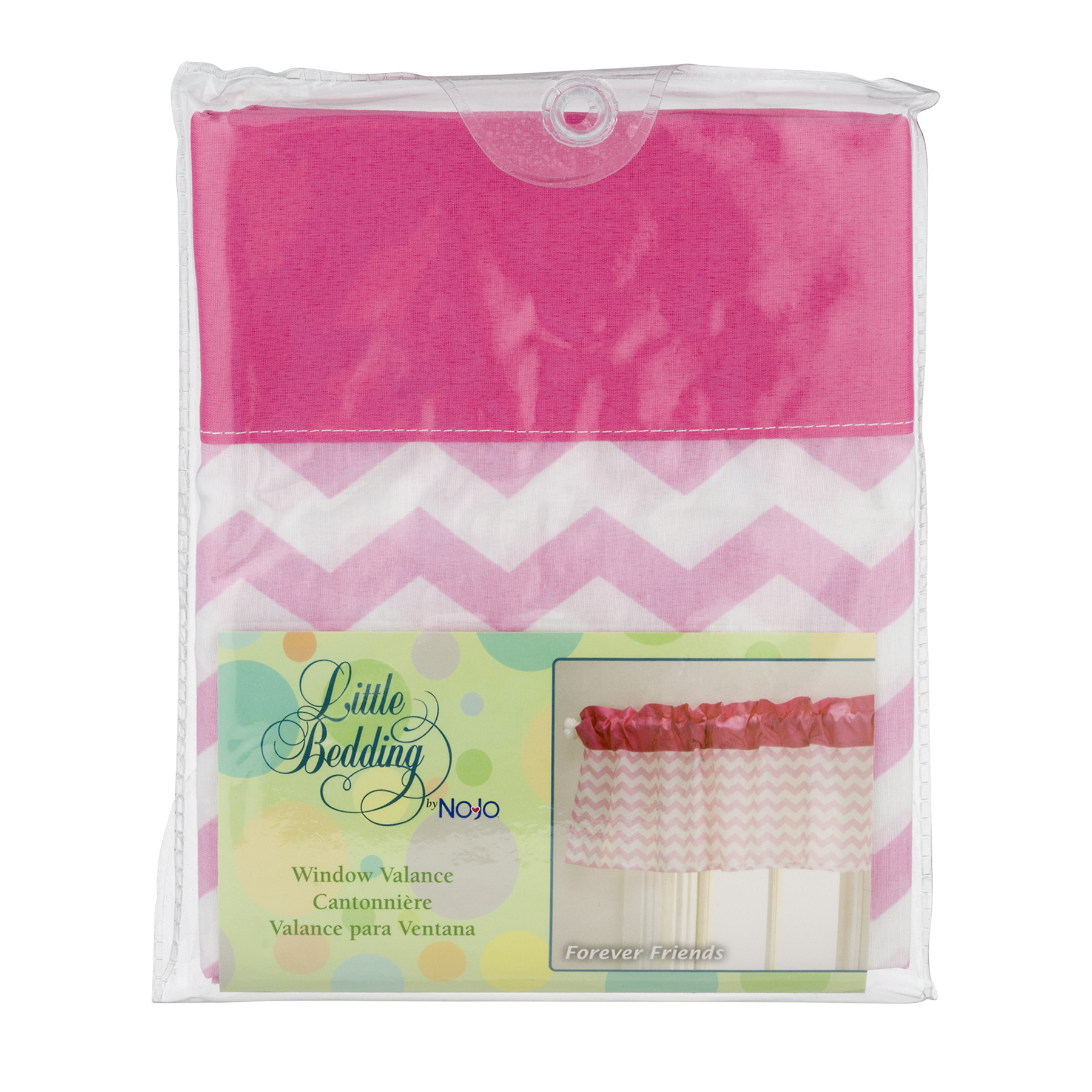 Little Bedding Window Valance, Forever Friends, 1.0 CT