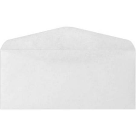#10 Regular Envelopes (4 1/8 x 9 1/2) - 24lb. Bright White (1000 Qty.) Bright White 1000 Envelopes