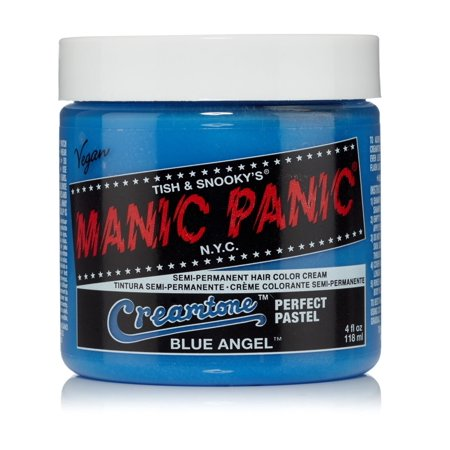 Blue Angel Manic Panic 4 Oz Hair Dye Creamtones Costume Accessory (Best Permanent Hair Straightening Products)