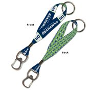 Seattle Seahawks Official NFL  Lanyard Bottle Opener Key Strap Key Chain Keychain by Wincraft