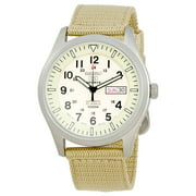 Seiko Men's 5 Beige Dial Automatic Watch SNZG07J1