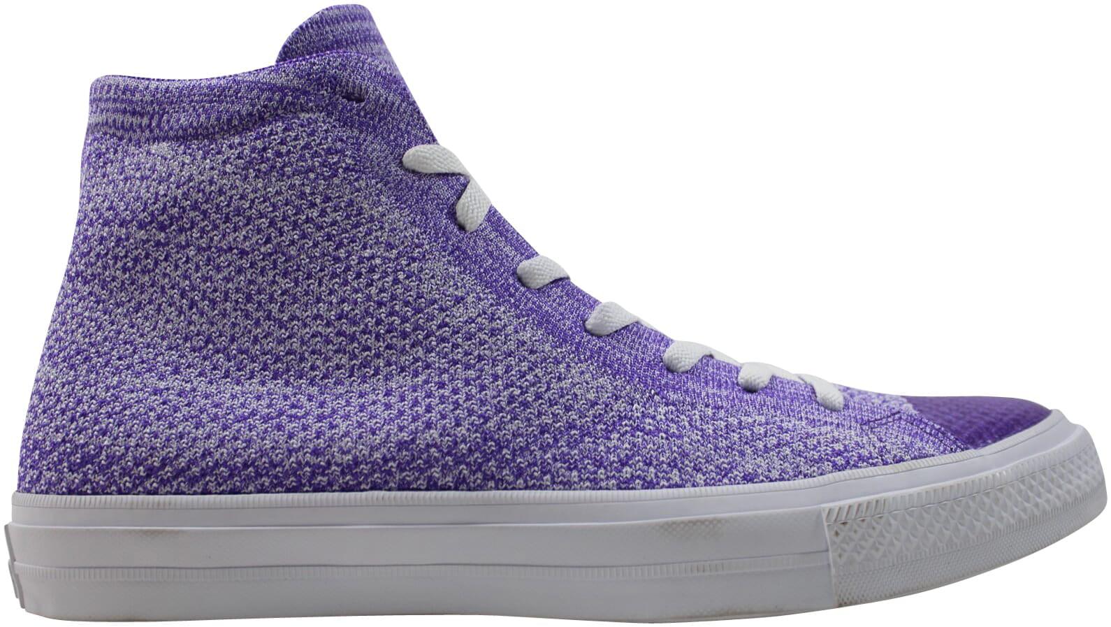 Converse Chuck Taylor hi Purple/White