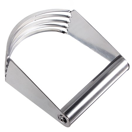 Stainless Steel 5 Sturdy Dough Blades Pastry Blender Bread Cake Cream Cutter Kitchen Tool - Metal Dough Blade