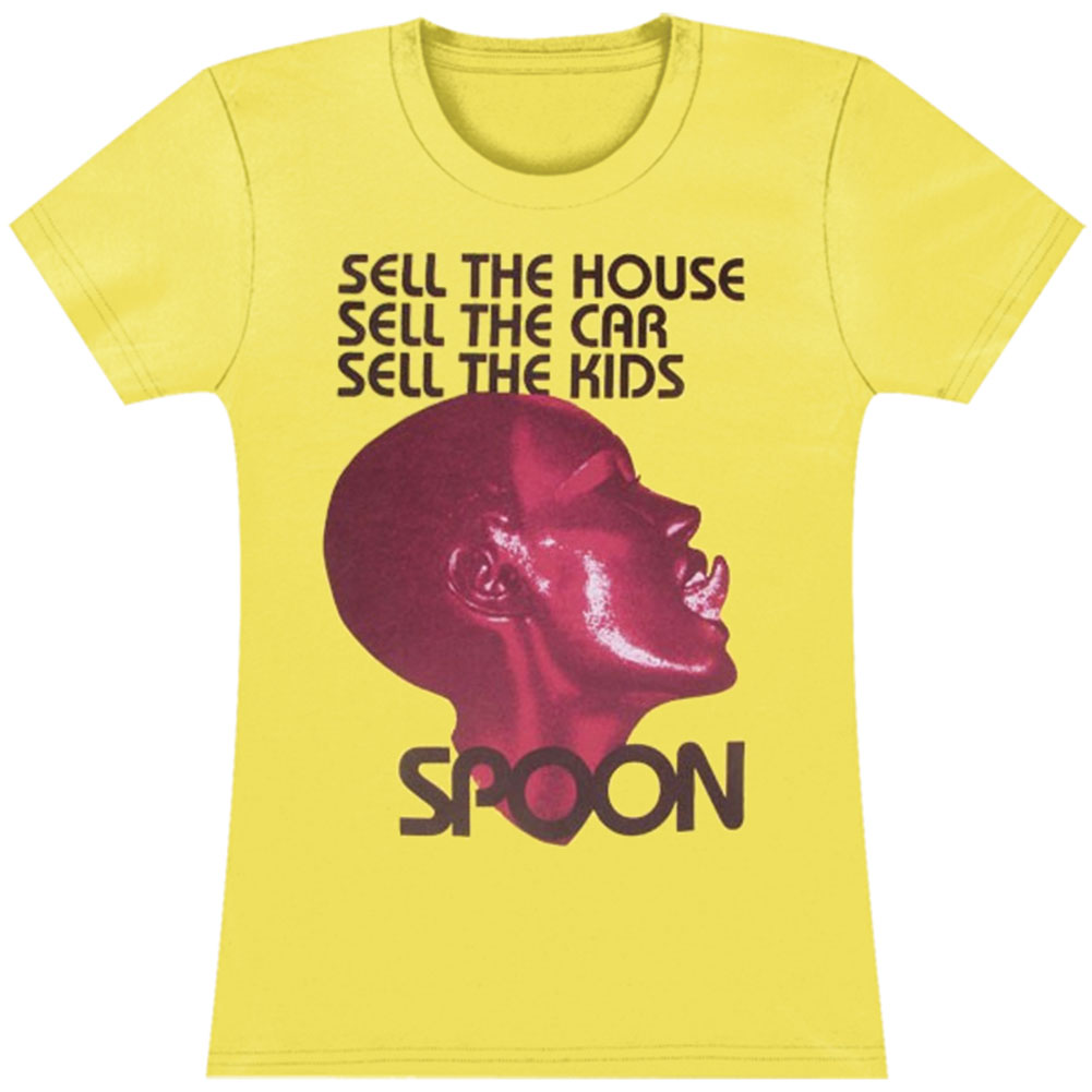 Spoon  Girl's Grace Girls Jr Soft tee Yellow