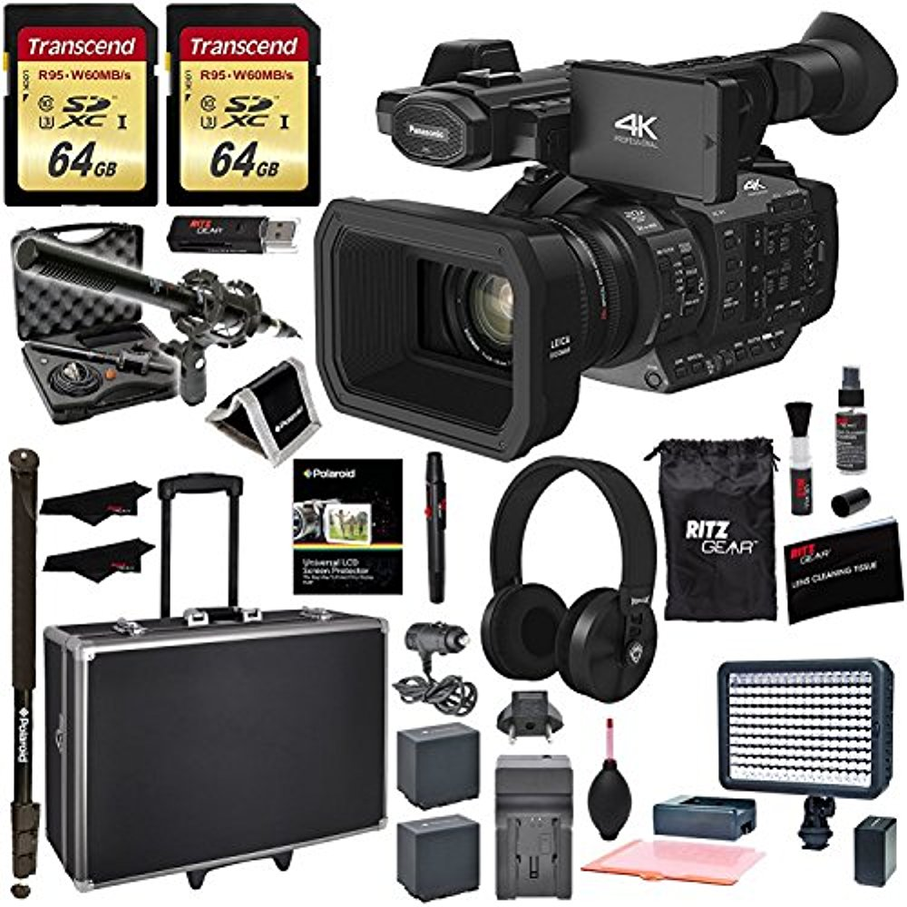 Panasonic HC-X1 4K Ultra Professional Camcorder + XM55 Mic MANUFACTURER WARRANTY by Panasonic