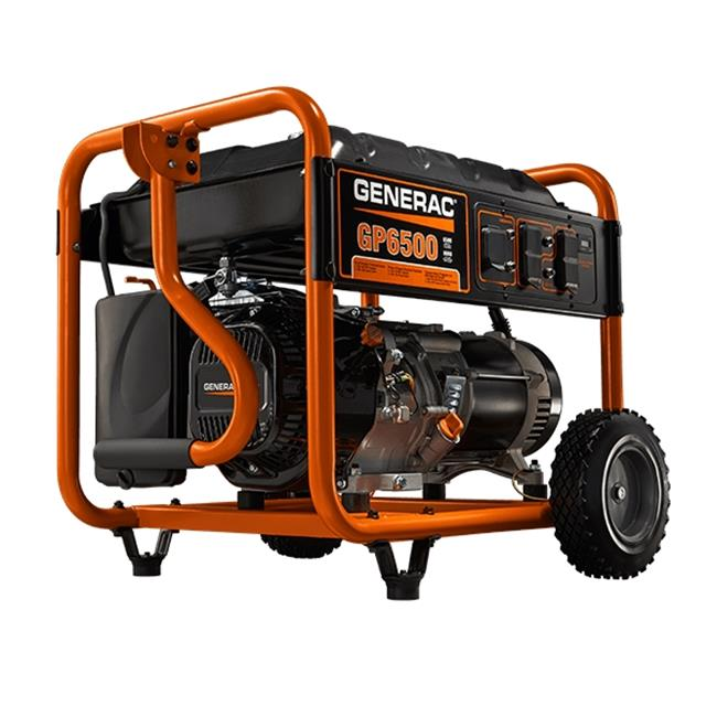 Generac Power Systems  GNR-5940 GP6500 Portable Generator 6500W Run