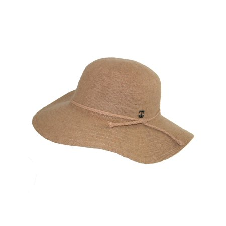 9779c790f26 Callanan - Women s Floppy Hat with Braided Faux Leather Hatband ...
