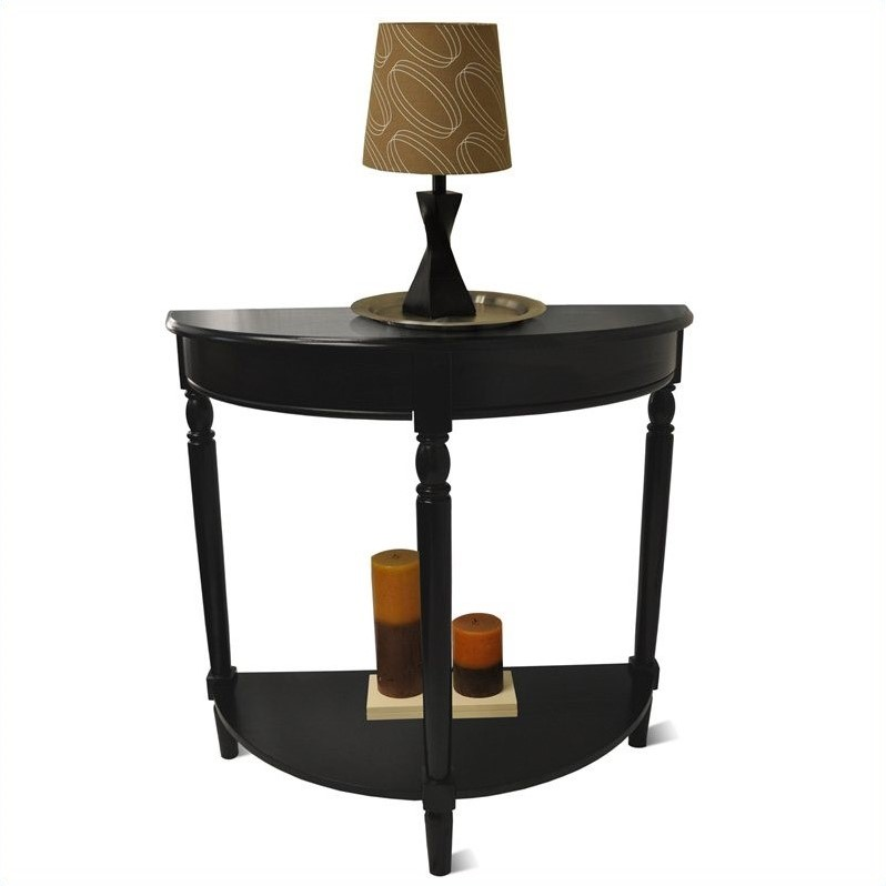 Convenience Concepts French Country Entryway Table Black - Convenience concepts french country coffee table