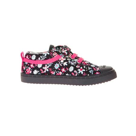 Skidders Baby Girls' Multi Closure Printed Casual Shoe