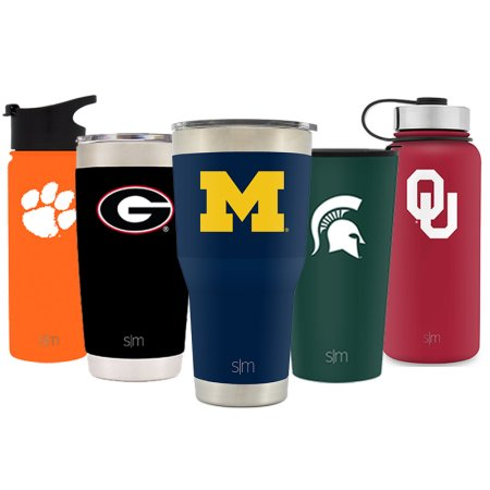 Simple Modern Michigan State University 30oz Cruiser Tumbler - Vacuum Insulated Stainless Steel Travel Mug - MSU Spartans Tailgating Hydro Cup College Flask