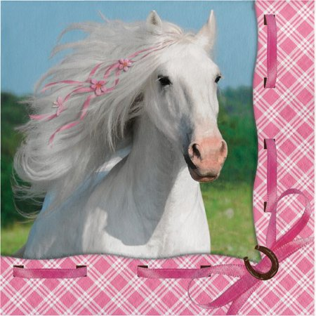 Party Creations Heart My Horse Lunch Napkins, 16 Ct
