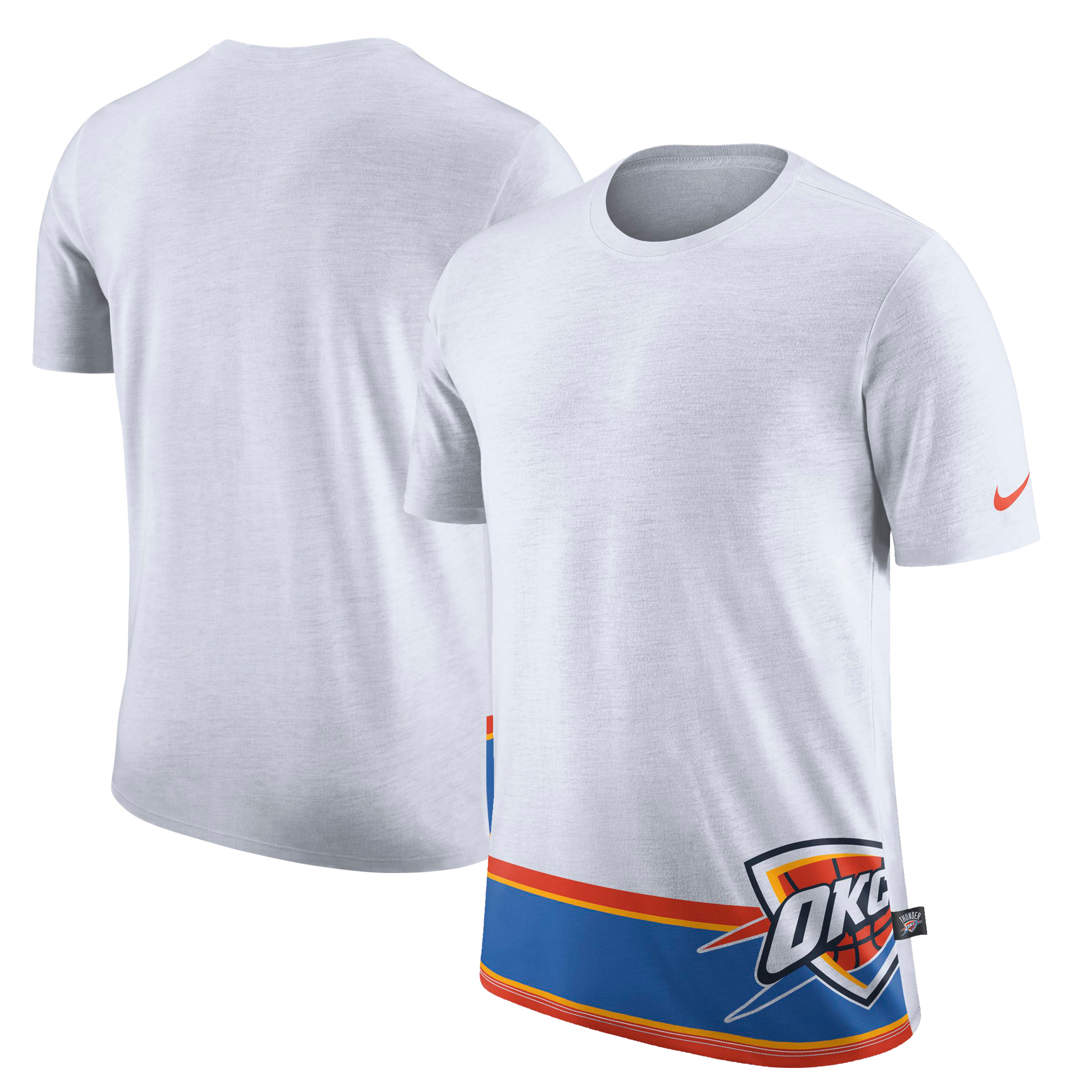 Oklahoma City Thunder Nike DNA T-Shirt - White