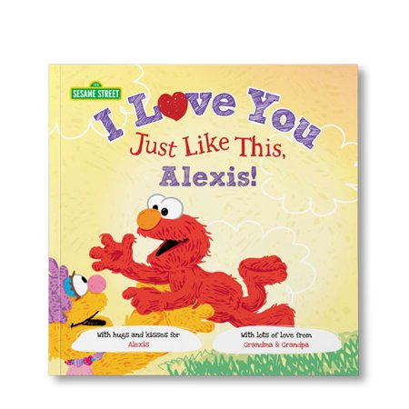 Sesame Street: I Love You Just Like This - Personalized Book - Personalized Boots