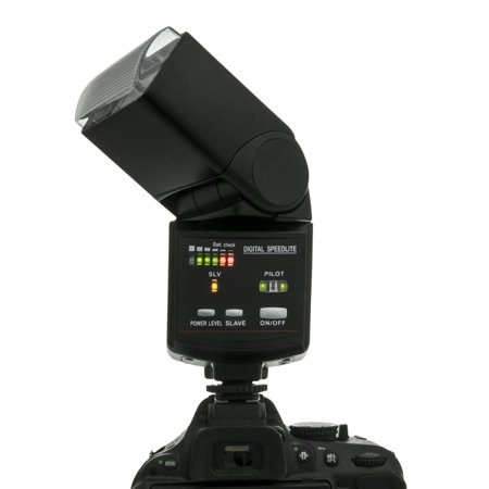 Nikon D3200 Digital SLR Camera + 18-55mm AF-S DX Nikkor VR + 2.2X Telephoto and 0.43X Macro Lens Kit + 32GB Memory + Bounce Swivel Flash + Tripod + Padded Case Bag + UV CPL FLD Filter Bundle + Remote - image 1 of 1