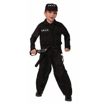CHCO-S.W.A.T.POLICE-LARGE - Swat Kids Costume