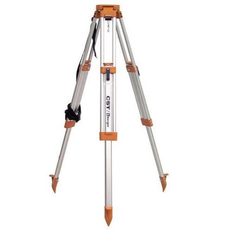 Factory-Reconditioned CST/berger 60-ALQCI20S Contractor's Aluminum Flat Head Tripod with Improved Quick Clamp(Refurbished)